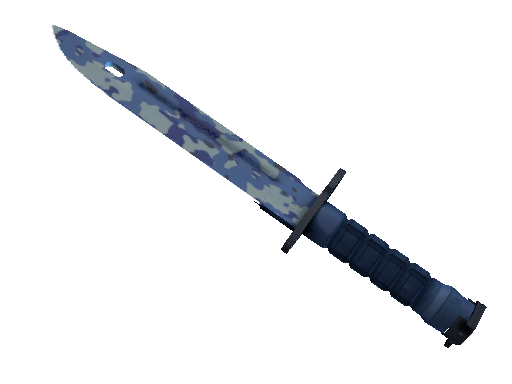 ★ Bayonet | Bright Water (Battle-Scarred)