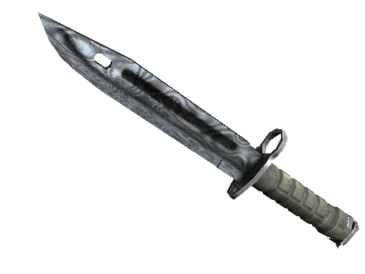 ★ StatTrak™ Bayonet | Damascus Steel (Battle-Scarred)