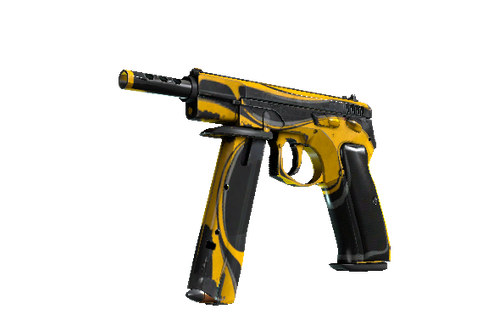 Buy StatTrak™ CZ75-Auto | Yellow Jacket (Battle-Scarred)
