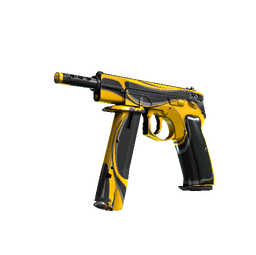 StatTrak™ CZ75-Auto | Yellow Jacket (Well-Worn)