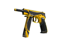 CZ75-Auto | Yellow Jacket (Field-Tested)
