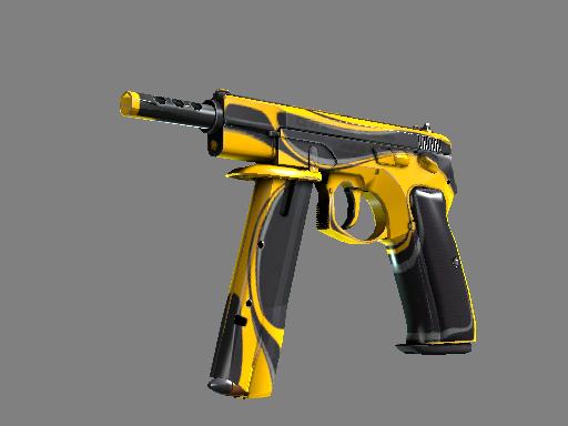 StatTrak™ CZ75-Auto | Yellow Jacket