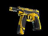 StatTrak™ CZ75-Auto | Yellow Jacket (Factory New)