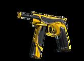 CZ75-Auto | Желтый жакет, Немного поношенное, 187.18$
