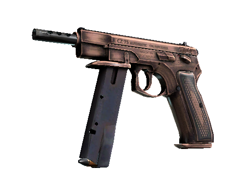 StatTrak™ CZ75-Auto | Distressed (Battle-Scarred)