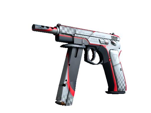 CZ75-Auto | Pole Position (Battle-Scarred)