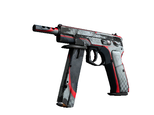 CZ75-Auto | Pole Position Battle-Scarred
