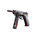 StatTrak™ CZ75-Auto | Pole Position <br>(Battle-Scarred)