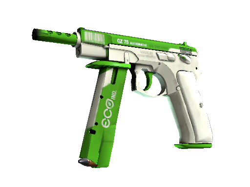 StatTrak™ CZ75-Auto | Eco (Battle-Scarred)