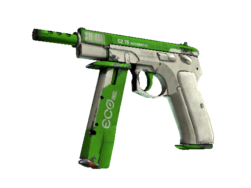 CZ75-Auto | Eco Battle-Scarred