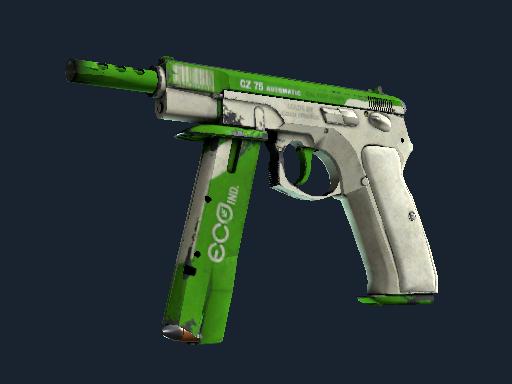 Скин CZ75-Auto | Эко (Закалённое в боях)