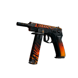 StatTrak™ CZ75-Auto | Tigris (Battle-Scarred)