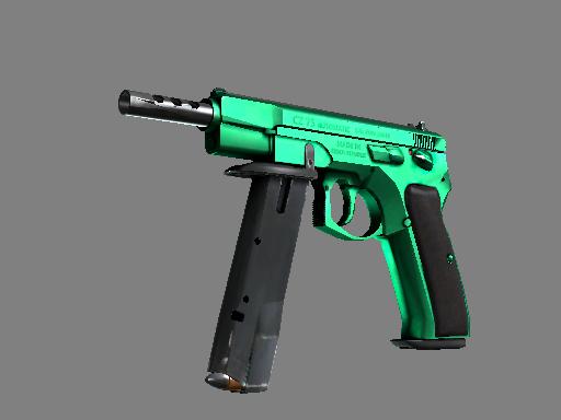CZ75-Auto | Emerald (Minimal Wear)