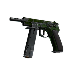 CZ75-Auto | Emerald Quartz (Battle-Scarred)