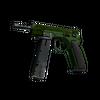 CZ75-Auto | Emerald Quartz <br>(Well-Worn)