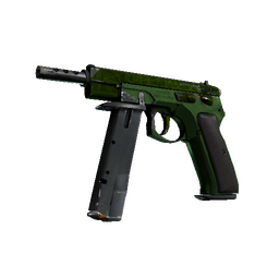 CZ75-Auto | Emerald Quartz (Field-Tested)