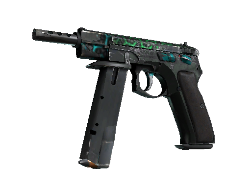 CZ75-Auto | Polymer (Battle-Scarred)