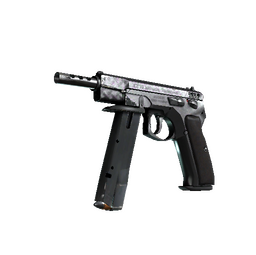 StatTrak™ CZ75-Auto | Tread Plate (Field-Tested)