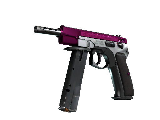 CZ75-Auto | The Fuschia Is Now Factory New