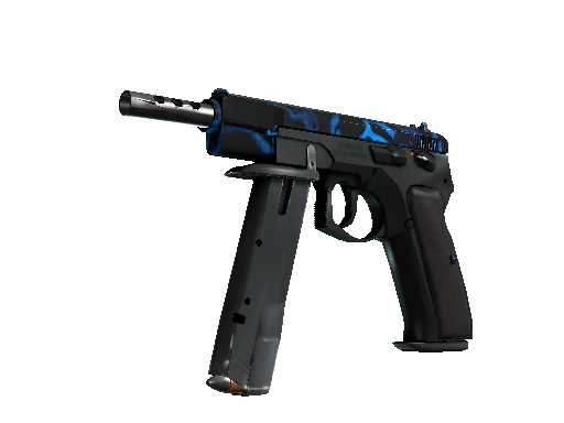 StatTrak™ CZ75-Auto | Poison Dart (Battle-Scarred)