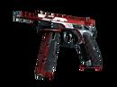 CZ75-Auto | Red Astor