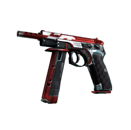 StatTrak™ CZ75-Auto | Red Astor (Minimal Wear)