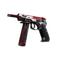 CZ75-Auto | Red Astor <br>(Factory New)