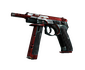 CZ75-Auto | Red Astor (Battle-Scarred)