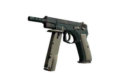 Buy CZ75-Auto | Green Plaid (Field-Tested)