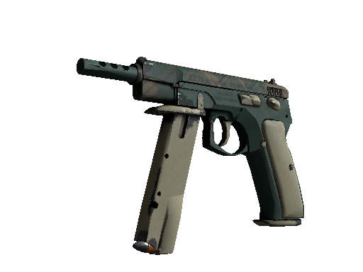 CZ75-Auto | Green Plaid Field-Tested