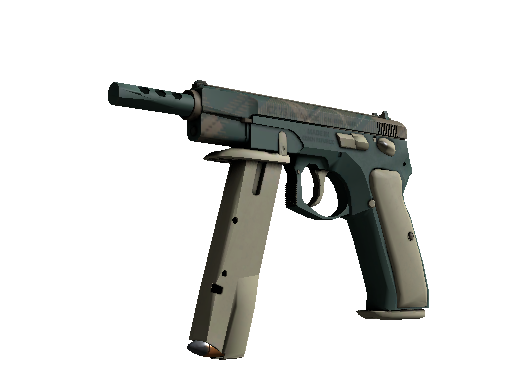 CZ75-Auto | Green Plaid (Minimal Wear)