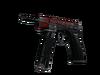 CZ75-Auto | Crimson Web (Battle-Scarred)