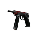 StatTrak™ CZ75-Auto | Crimson Web <br>(Battle-Scarred)