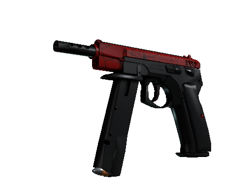 CZ75-Auto | Crimson Web Minimal Wear