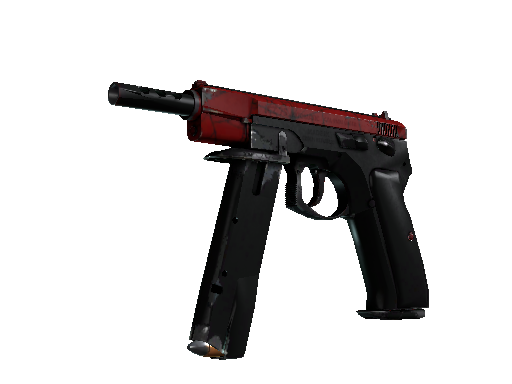 CZ75-Auto | Crimson Web Well-Worn
