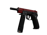 StatTrak™ CZ75-Auto | Crimson Web (Well-Worn)