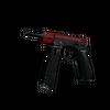 CZ75-Auto | Crimson Web <br>(Well-Worn)