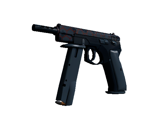 StatTrak™ CZ75-Auto | Hexane (Well-Worn)