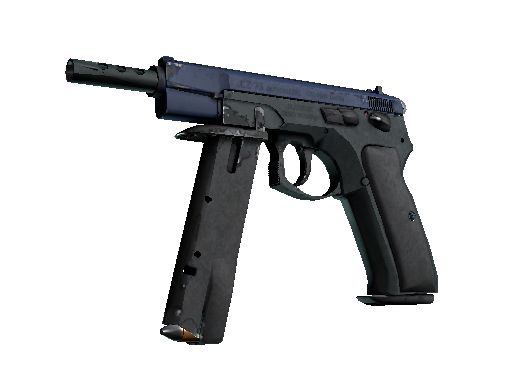 CZ75-Auto | Indigo (Well-Worn)