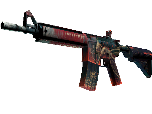 M4A4 | Tooth Fairy (Minimal Wear)