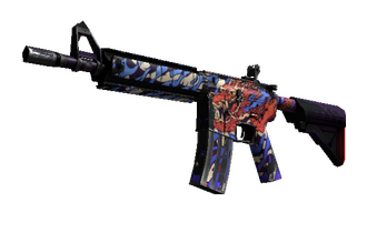 M4A4 | 龍王 (Dragon King) (Field-Tested) Price