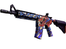 StatTrak™ M4A4   龍王 (Dragon King)