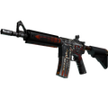 M4A4 | Hellfire <br>(Battle-Scarred)