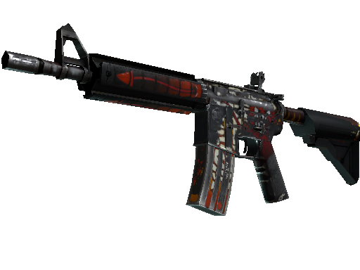 M4A4 | Hellfire Battle-Scarred