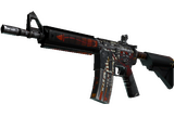 M4A4 | Hellfire (Battle-Scarred)