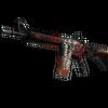 M4A4 | Hellfire (Well-Worn)