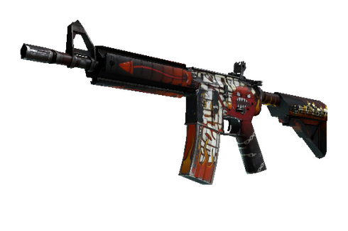 M4A4 | Hellfire (Well-Worn) Prices