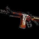 StatTrak™ M4A4 | Hellfire (Factory New)