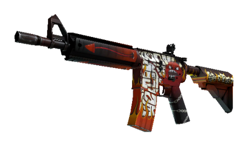 M4A4 | Hellfire (Minimal Wear) Prices