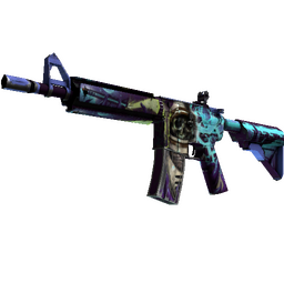 M4A4   Desolate Space (Battle-Scarred)